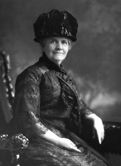 ABWE - Our fist president, Mrs. Lucy Peabody